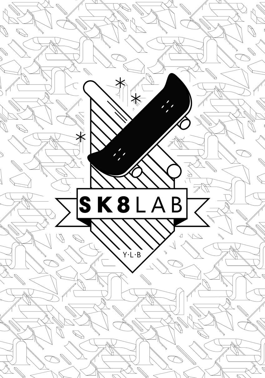 SK8 LAB graphic design Thierry Schulé